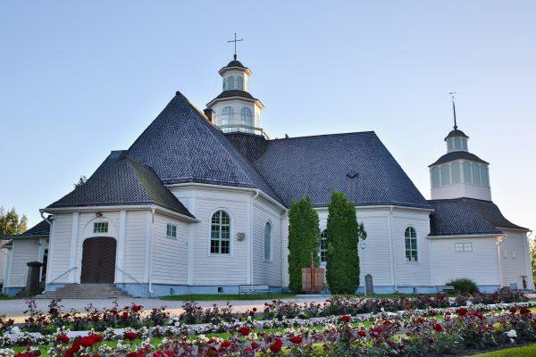 kuva ilmajoen kirkosta